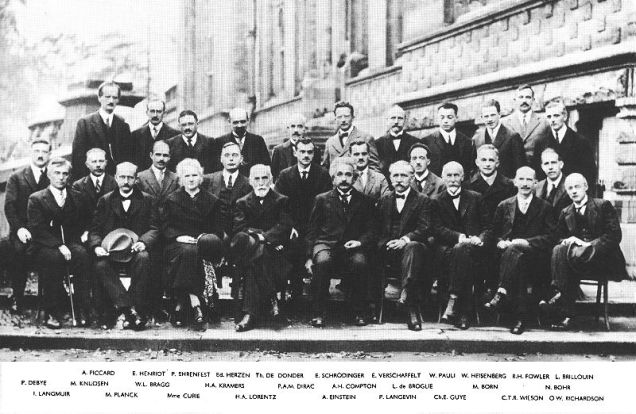 Solvay Conference on Quantum Mechanics 1927